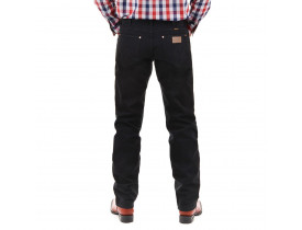 Calca Wrangler Masculina Preta Regular Fit 100% 13M.WZ.WK