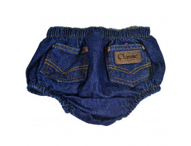 Tapa Fralda Country Short Jeans Classic